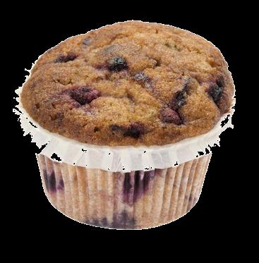 Muffin blueberry schnitzer